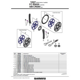 Shimano Steps FC-E6000 Crank Set black